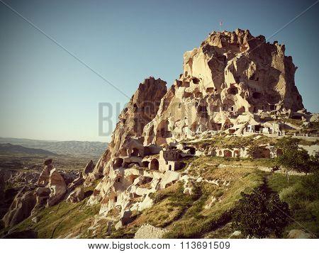 Unusual homes Cappadocia.