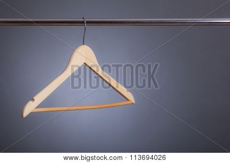 Hanger On A Clothes Rack
