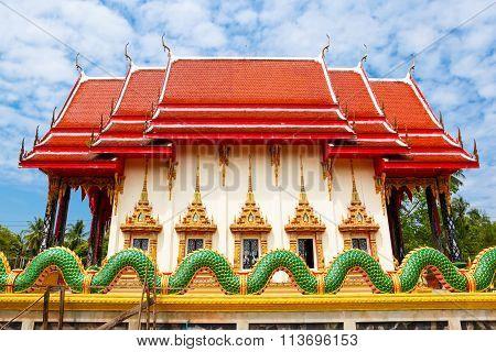The Temple Wat Salakphet, Thailand, Ko Chang Island