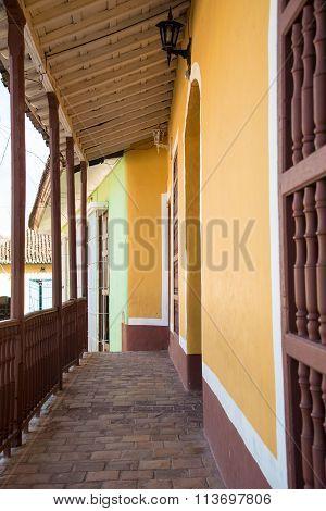 Vintage Architecture in Trinidad,Cuba