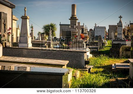 Tombs In The Cemetery