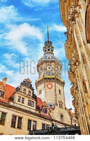 Dresden Castle Or Royal Palace (german: Dresdner Residenzschloss Or Dresdner Schloss) Is One Of The