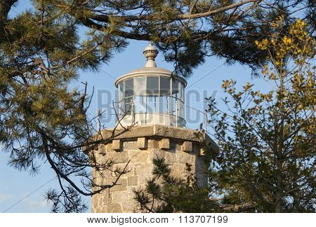 Stone Lighthouse Tower