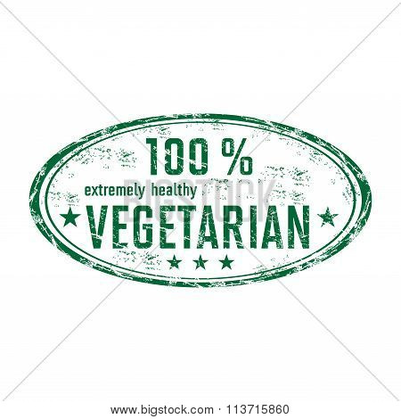 One hundred percent vegetarian