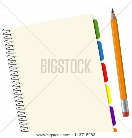 Paper Pad With Pencil