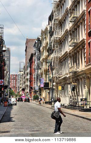 Greene Street, New York