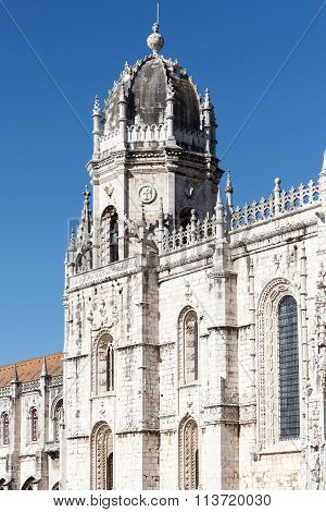 Hieronymites Monastery in Belem in Lisbon, Portugal