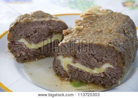 Beef Stuffed Meat Loaf