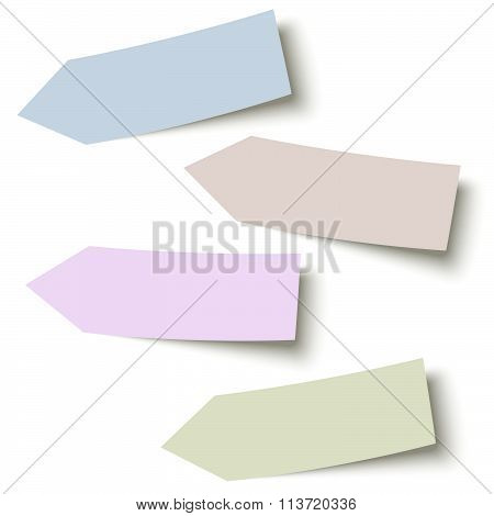 Sticky Papers Collection Arrows