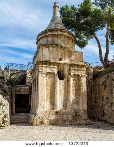 Tomb Of Absalom, Jerusalem