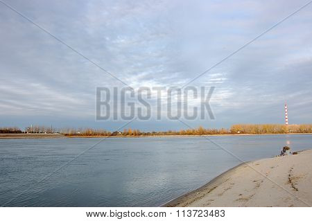 Fisherman On The Danube