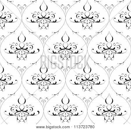 Seamless Pattern. Stock Illustration.