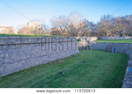 Brick Medieval Walls