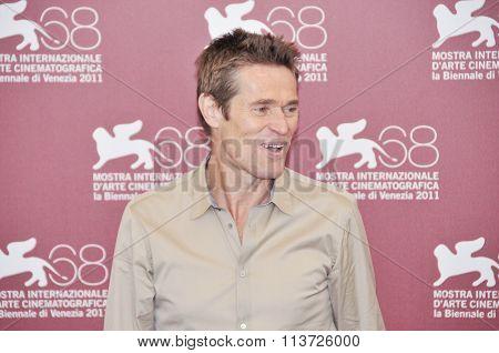 Actors Willem Dafoe
