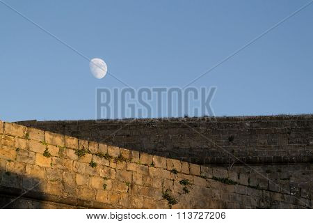 Moon And Walls