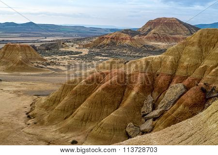 Erosion In Bardenas Reales