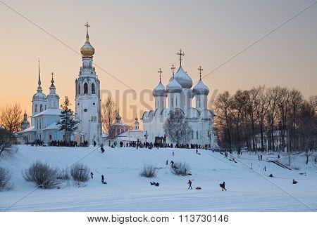 Winter Fun In Vologda