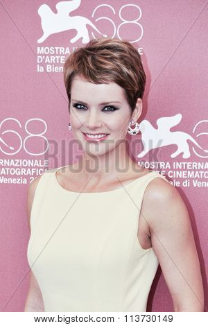 Actress Andrea Osvart