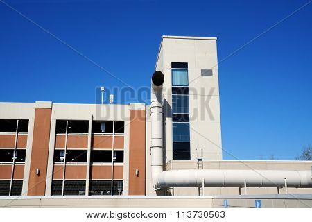Ventilation Tube at the Presence Saint Joseph Medical Center
