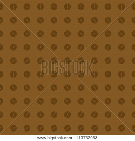 Beautiful Coffee Vector On Chocolate Background