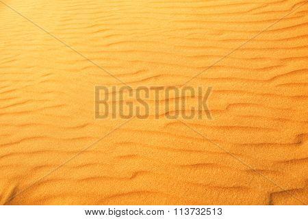Desert sand dunes texture