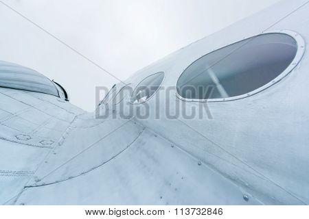 Details of  plane.