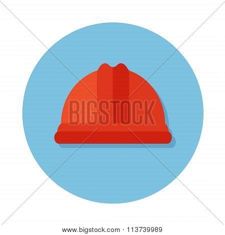 Flat icons with helmet