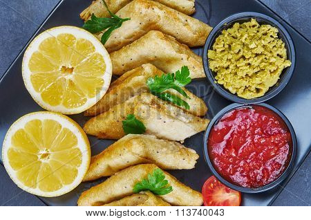 Vegetable Samosas With Spices