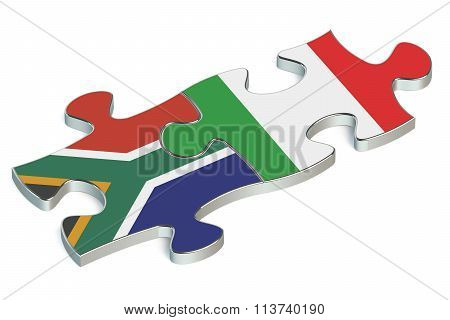 Italy And South Africa Puzzles From Flags