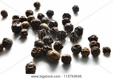 Pepper Beans Macro