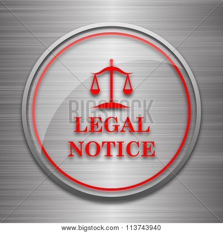 Legal Notice Icon