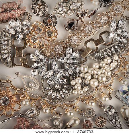 Jewelry Background. Jewel