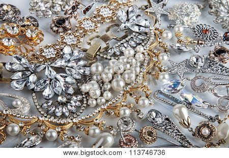 Jewelry Background. Jewel
