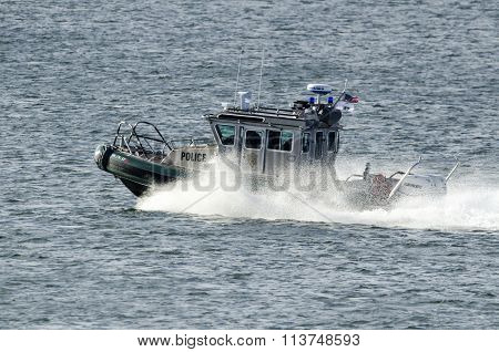 Environmental Police Patrol Boat