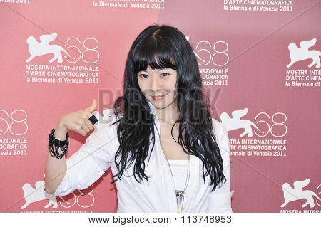 Actress Yue Wei