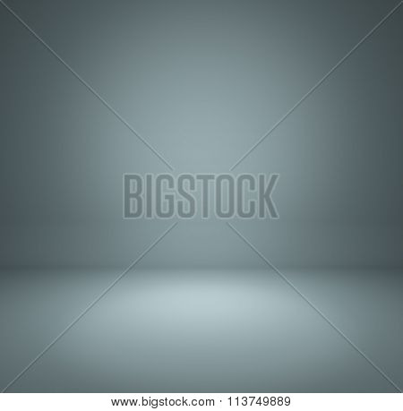 Gray Blue Gradient Abstract Background