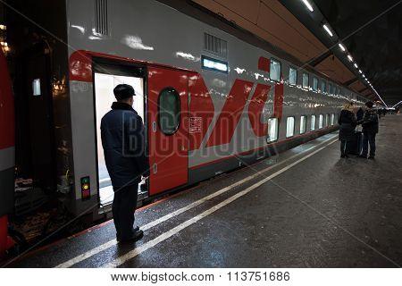 Double-decker Train