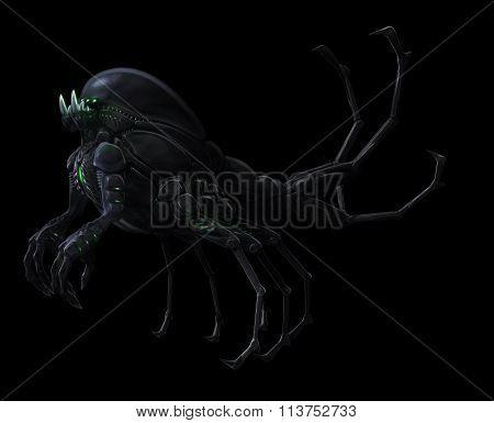 Underground Lurker Alien Concept- Ascending