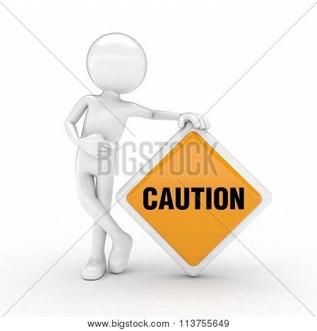 Caution Text