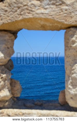 Loop-hole With Sea View