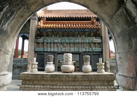 Zhaoling tomb in Shenyang People's Republic of China