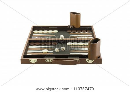 Playing Games Series - Backgammon Board Game Setup