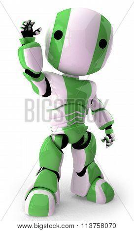 3D Robot Waving