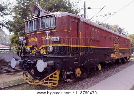 Antique rail engine, wheels, bogie