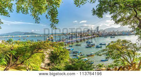 Nha Trang panoramic marina spring afternoon