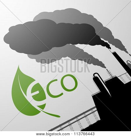 Environment Protection. Stock Illustration.