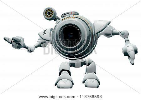 Robot Web Cam Gesturing