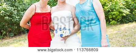 Guests at the wedding