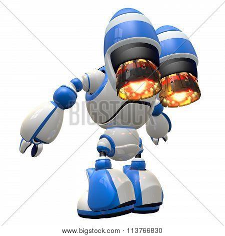 Large Space Invader Robot