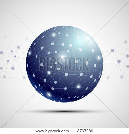 Social Media. Stock Illustration.